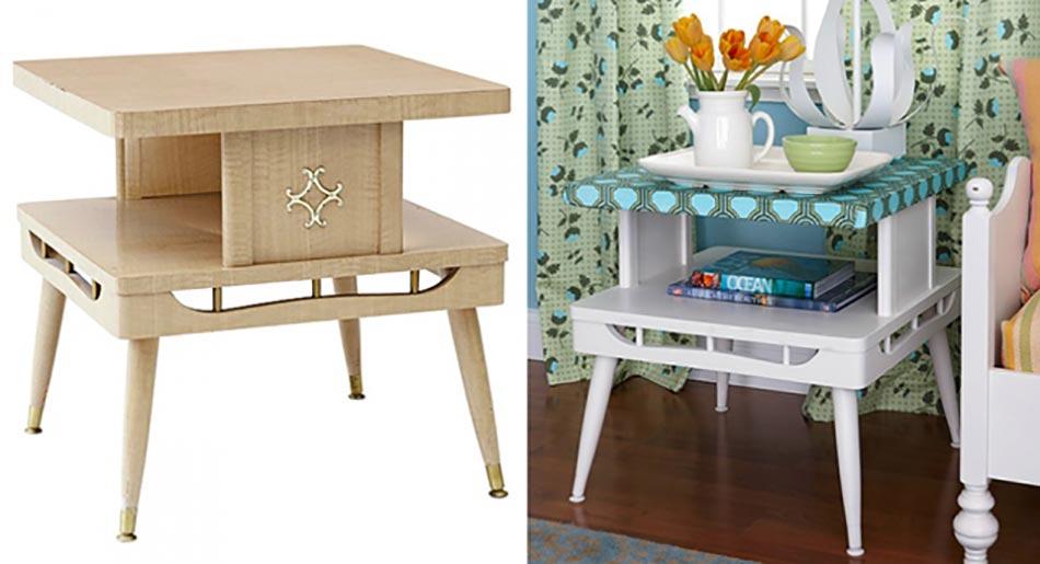 Inspiration d co pour redonner vie un vieux meuble for Relooker des vieux meubles