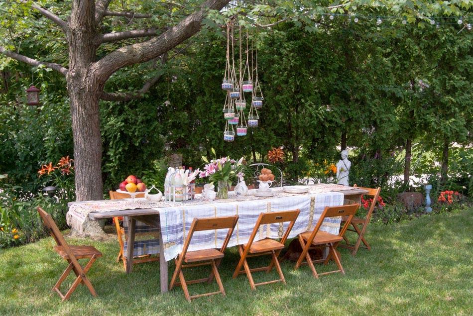 15 id es d co pour profiter d un repas entre amis en plein for Repas simple et convivial entre amis