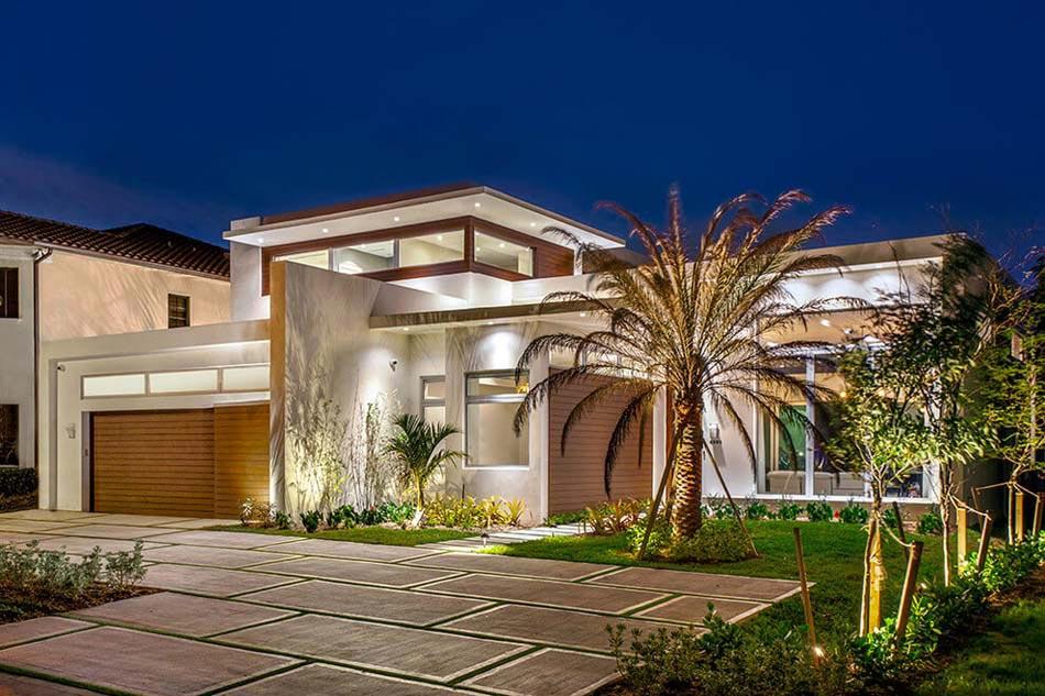 Belle maison exotique pour des vacances inoubliable en floride design feria - Residence de vacances contemporaine miami ...
