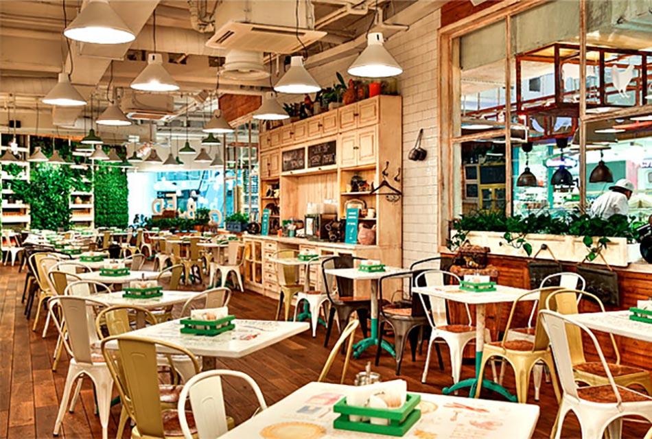 obed buffet un restaurant design inspir par la nature. Black Bedroom Furniture Sets. Home Design Ideas