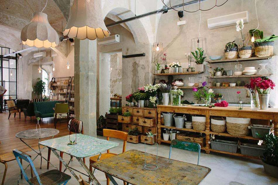 La m nag re un restaurant magasin la d co industrielle et concept original design feria for Deco resto