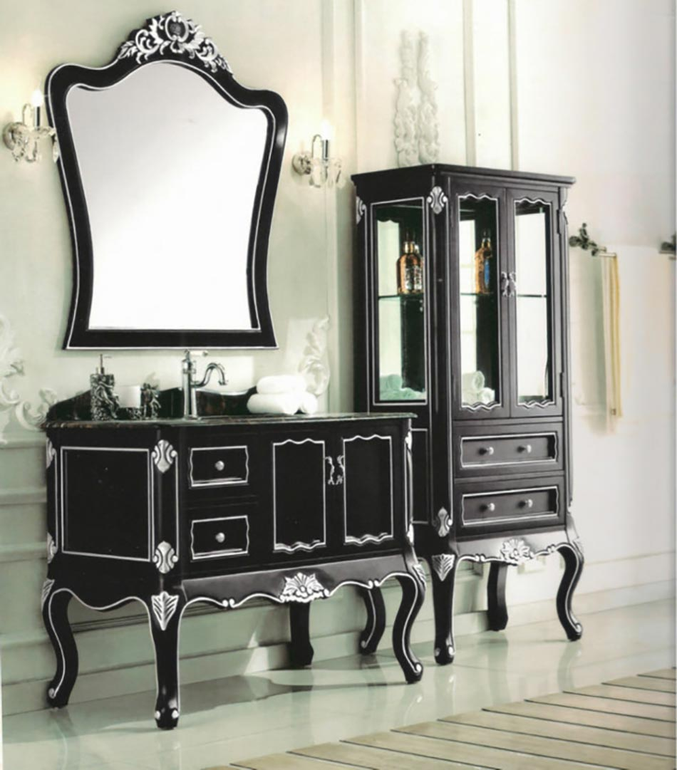 miroir de salle de bain l encadrement design design feria. Black Bedroom Furniture Sets. Home Design Ideas