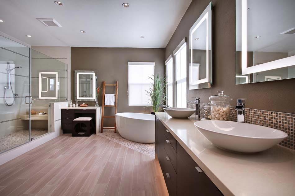 Un am nagement salle de bain adapt pour les besoins des for Revetement sol salle de bains