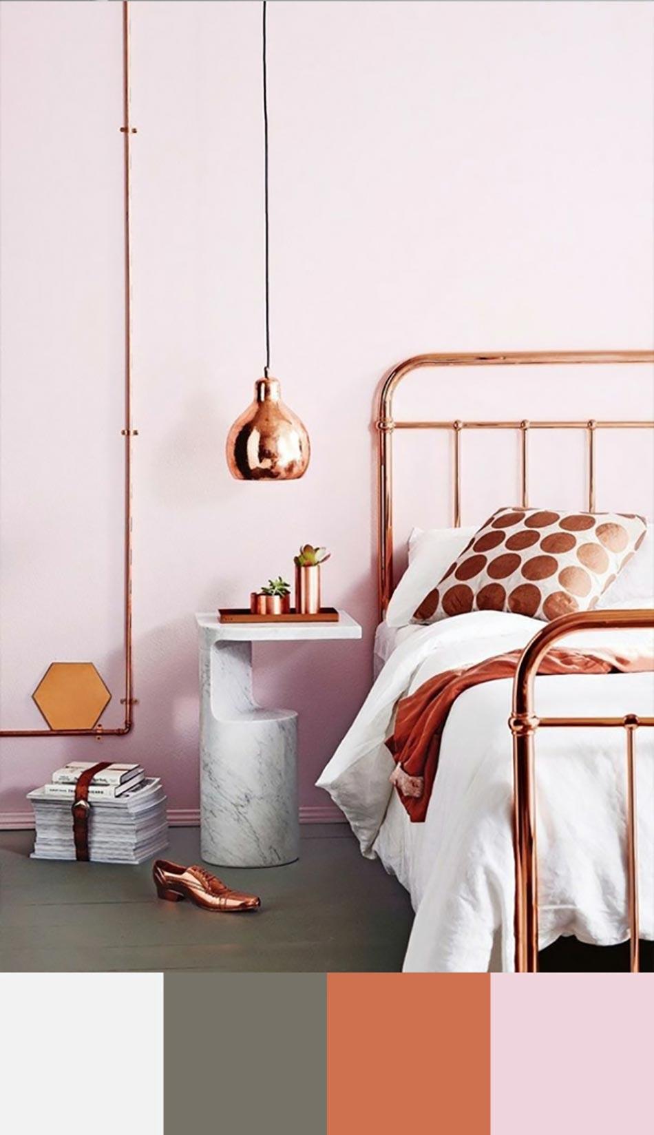 tendance couleur chambre à coucher unique | design feria
