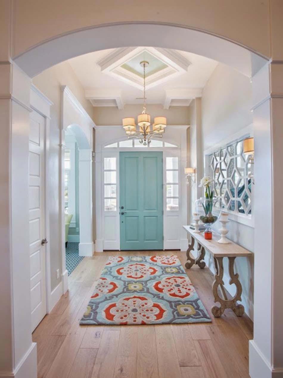 15 exemples de d co entr e moderne et accueillante for Idee deco maison design