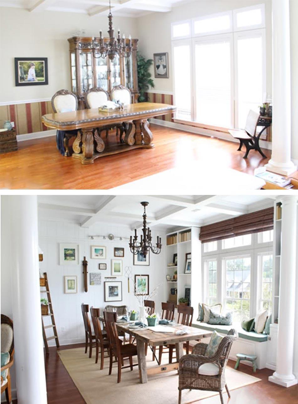 Moderniser Une Salle A Manger 12 exemples « avant – après » pour un relooking maisons