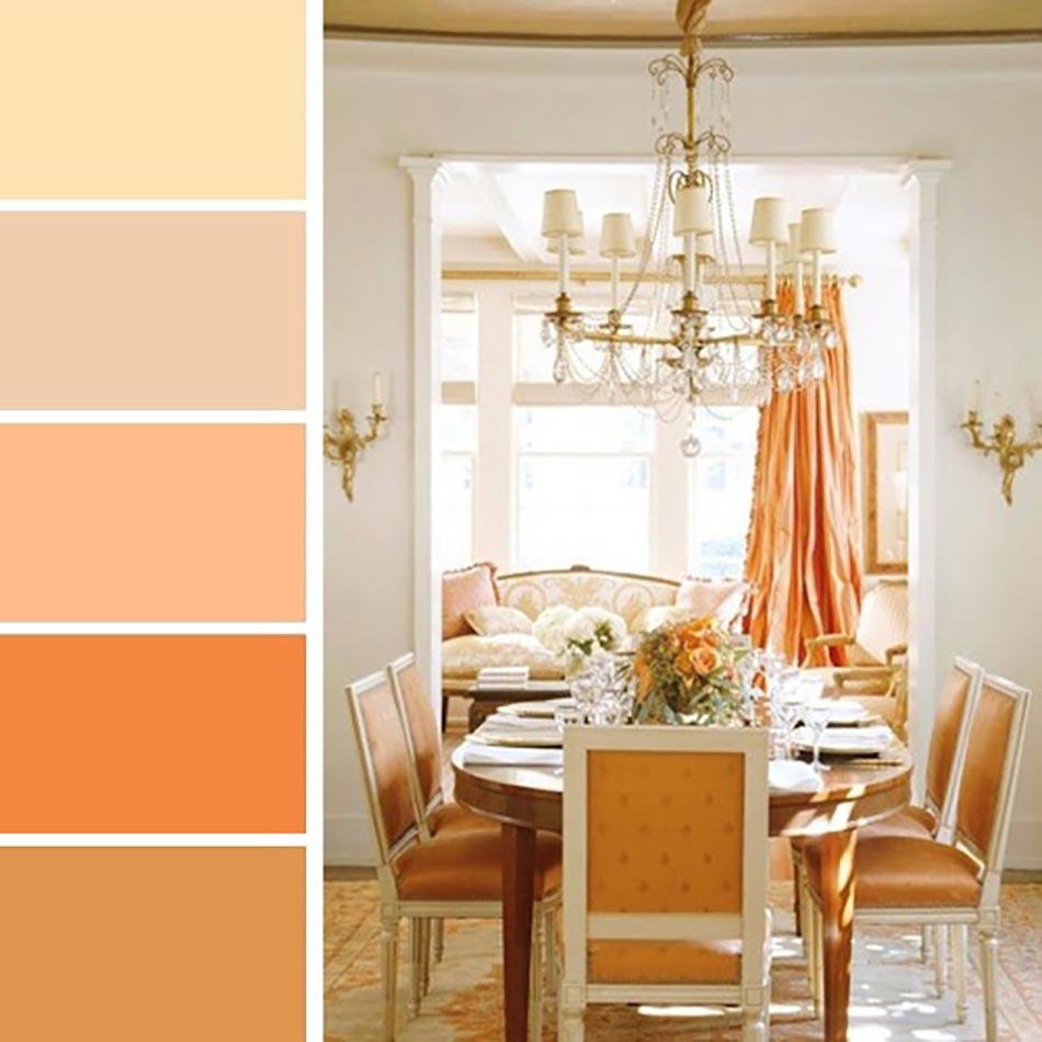 Palettes de couleurs afin de choisir les bonnes nuances for Decoration maison kijiji
