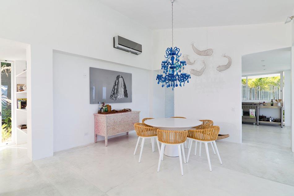 Villa contemporaine de plain pied aux cara bes avec belle - La demeure moderne gb house par mmeb architects ...