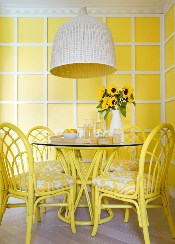 le jaune pour une d coration int rieure joyeuse design feria. Black Bedroom Furniture Sets. Home Design Ideas