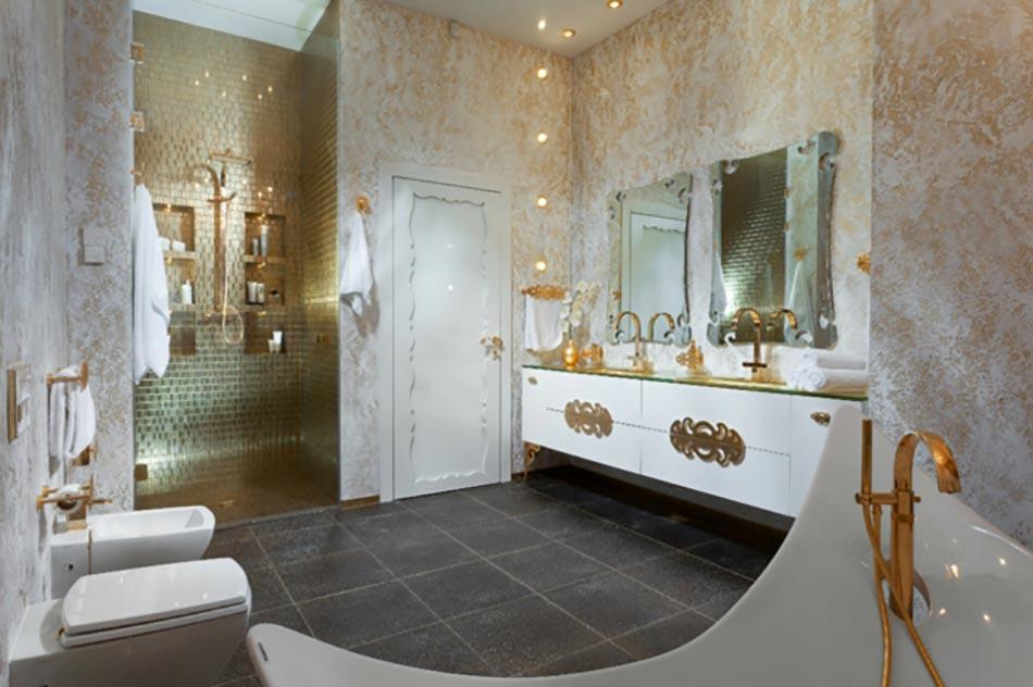 Charmant Salle De Bains Moderne Et Luxueuse