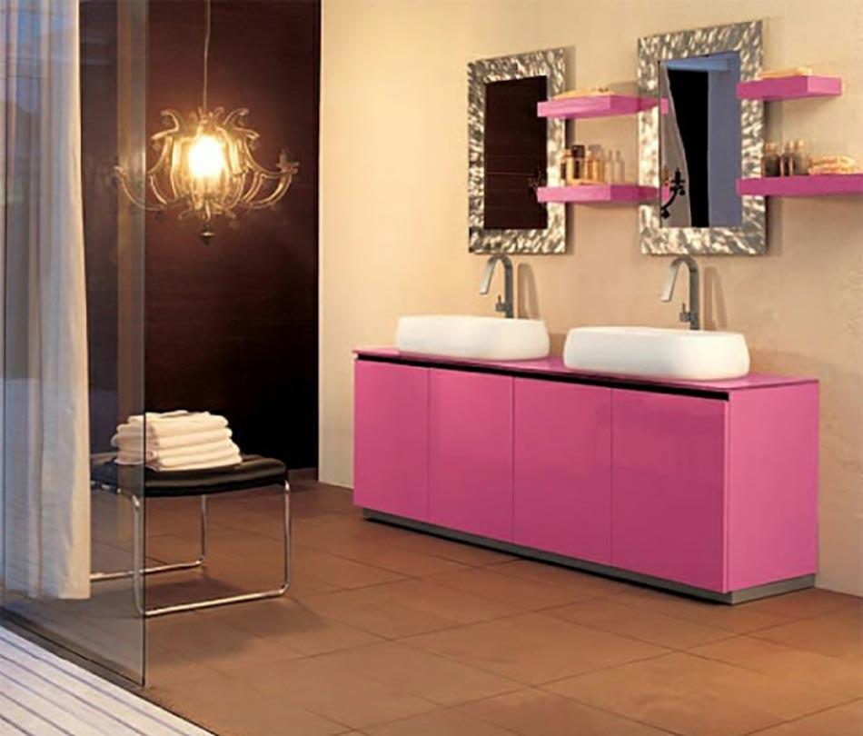 Salle De Bain Moderne Pour Une Matin E Coquette Design Feria