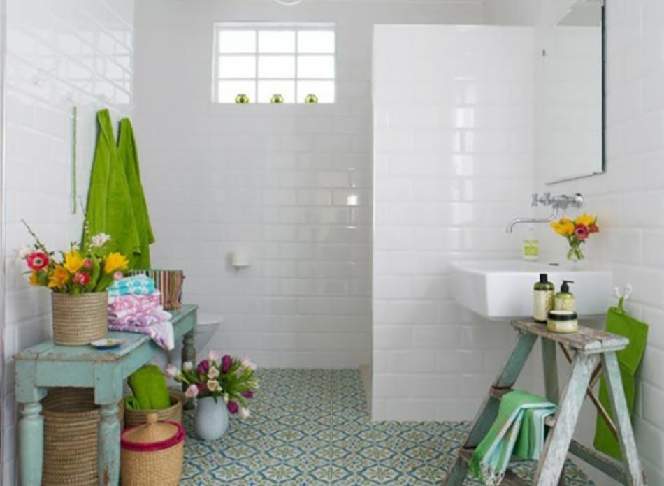 D coration florale pour une salle de bain moderne - Deco pour salle de bain design ...