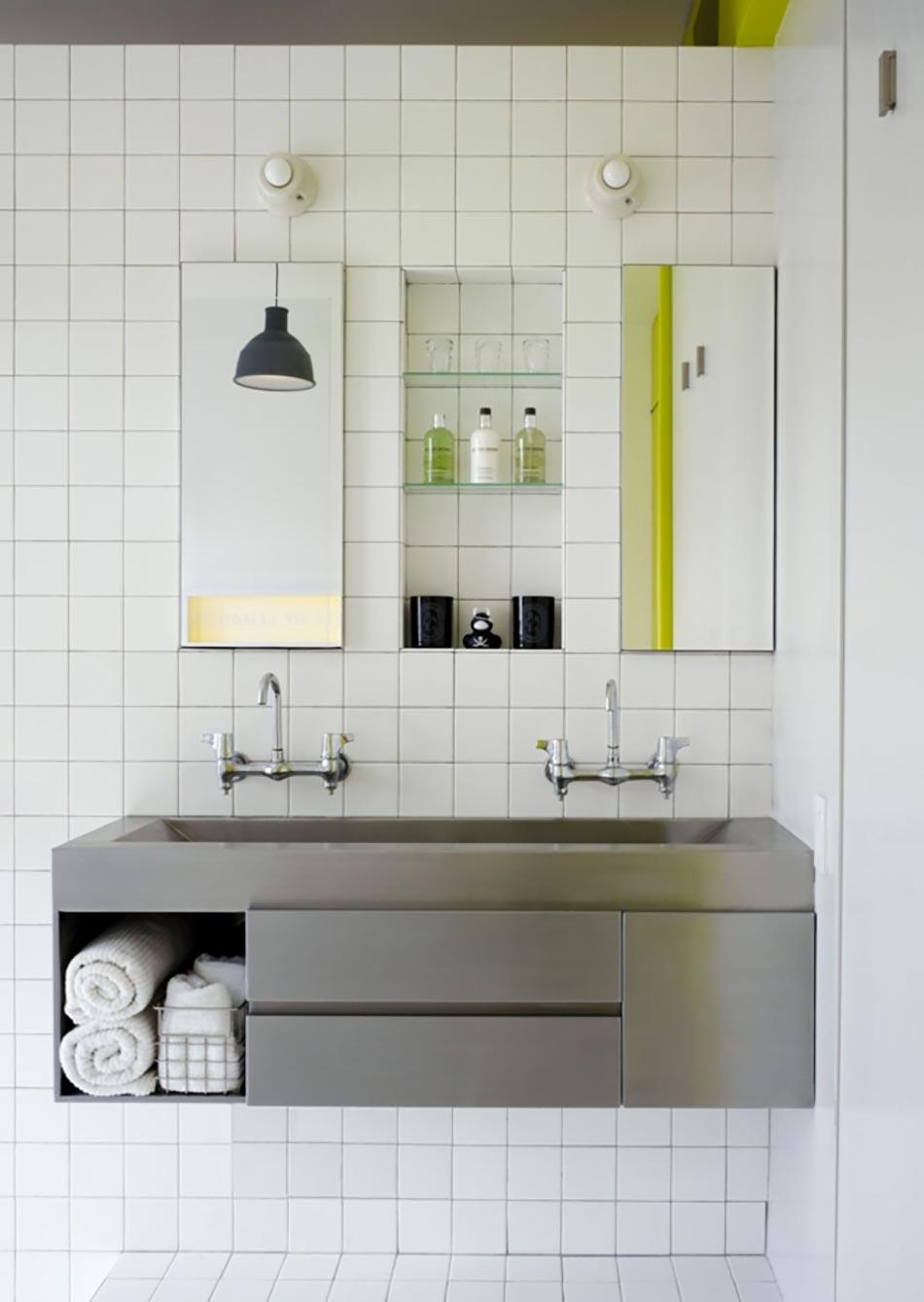 Ancien appartement t3 transform en un loft design for Carrelages muraux anciens