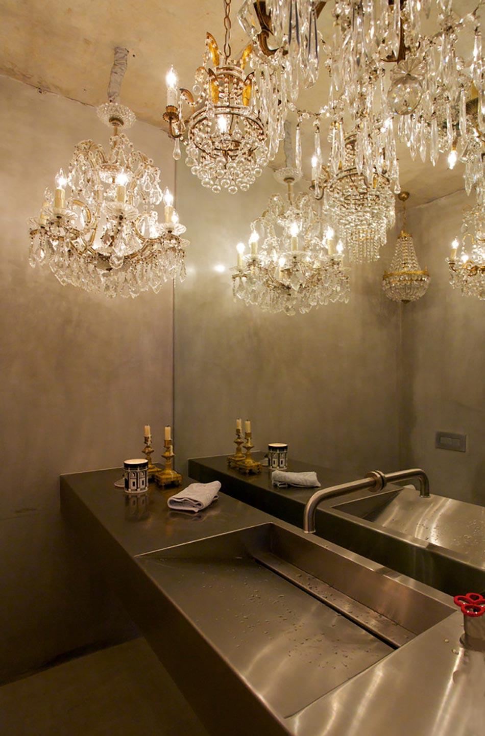 Cr ative et originale salle de bain au design industriel for Applique salle de bain style industriel