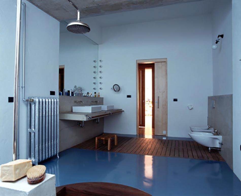 spacieuses salle de bain inspiration nordique - Salle De Bain Inspiration Scandinave