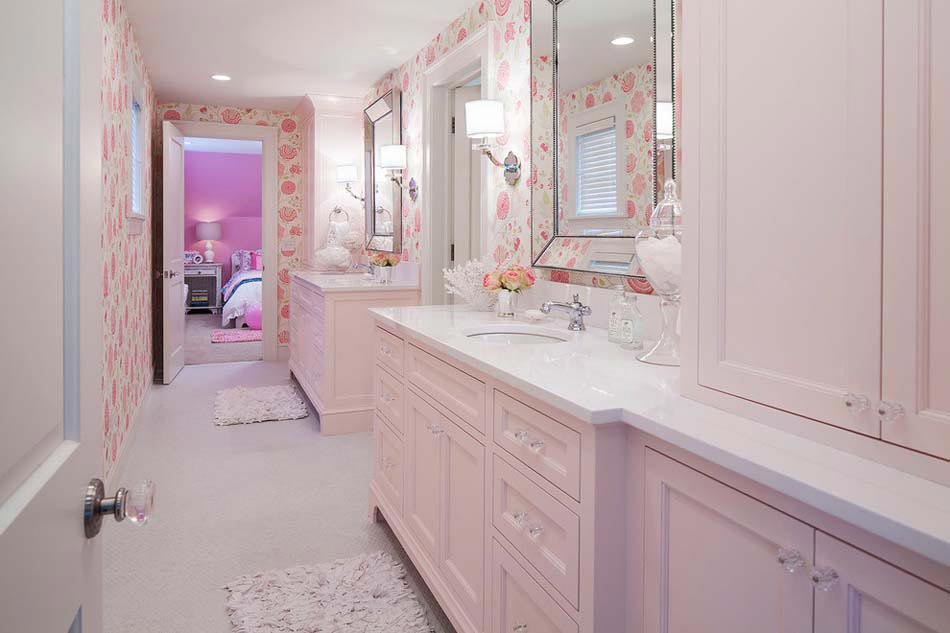 Awesome Salle De Bain Rose Pale Images - Amazing House Design ...
