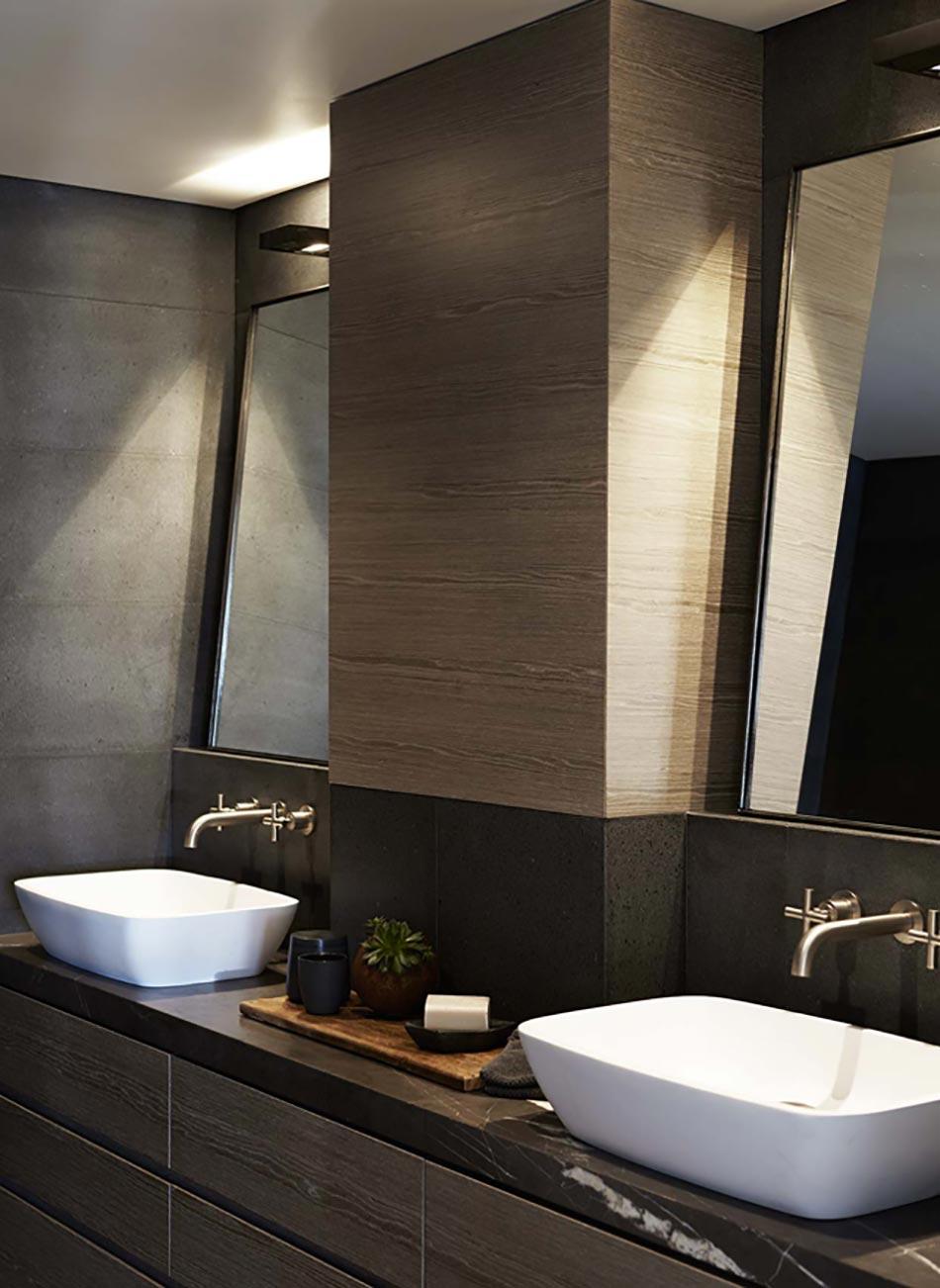 Appartement moderne et chic avec vue imprenable sur l 39 op ra design feria - Deco klein appartement ...
