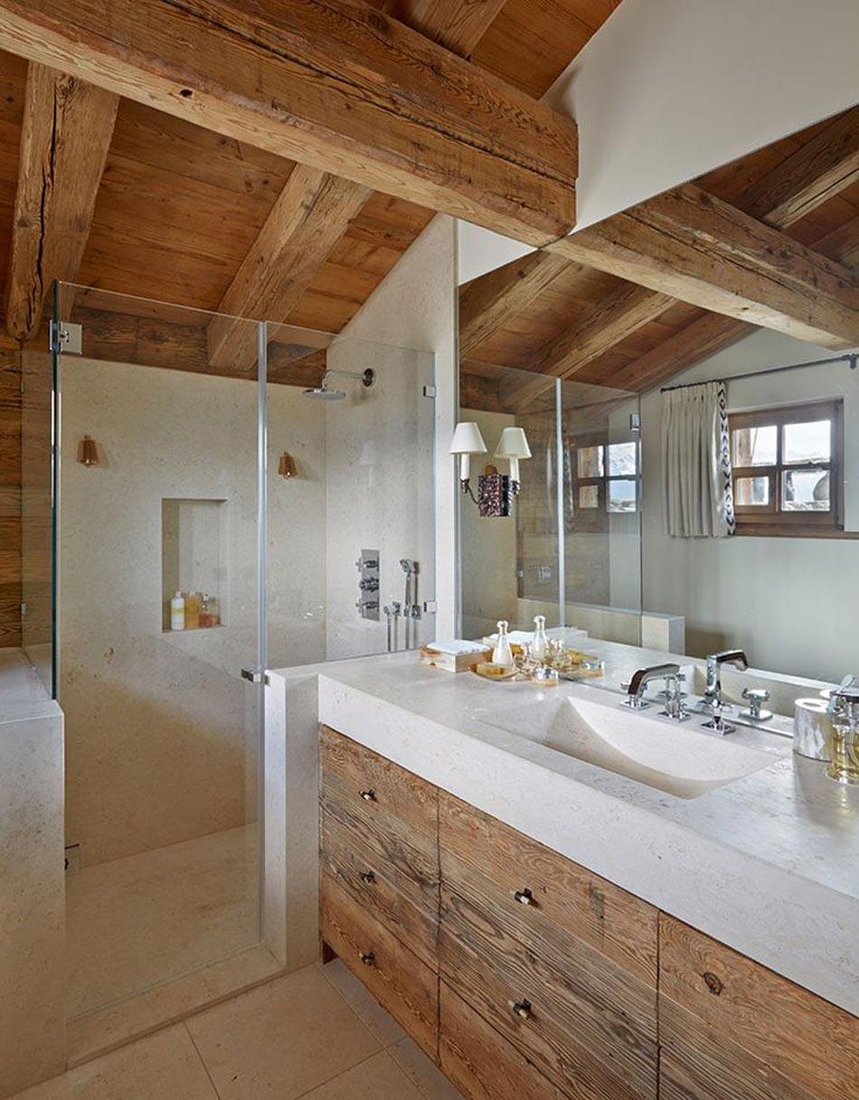 L\'intérieur bois rustique : garantie pour la chaleur et le ...