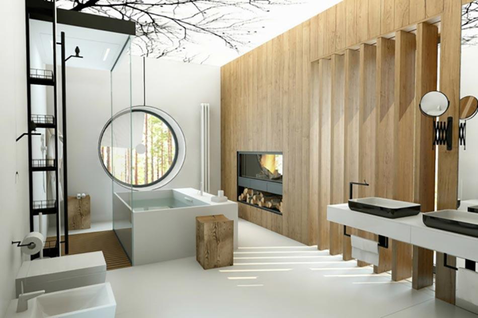 Salle de bain de luxe chic et originale design feria for Salle bain originale