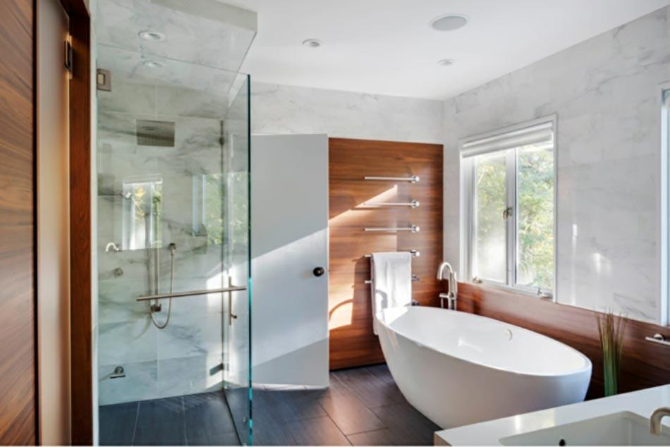 la simplicit dune salle de bains laspect pur - Salle De Bain Epuree