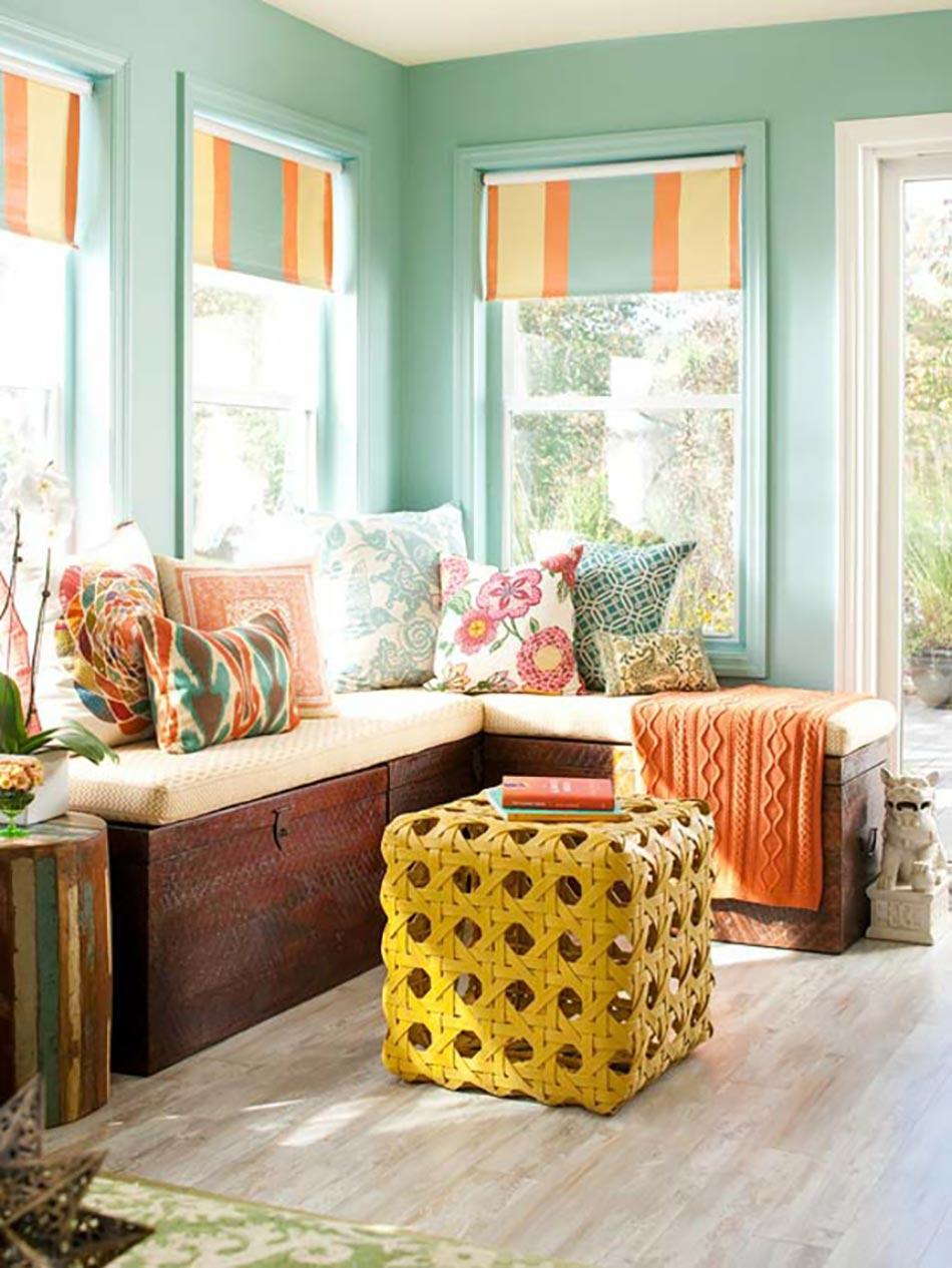 salon de jardin pour embellir une v randa vitr e design. Black Bedroom Furniture Sets. Home Design Ideas