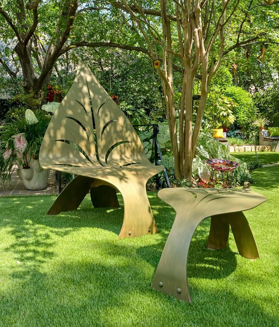 Salon de jardin design luxe v rias id ias for Design de jardin