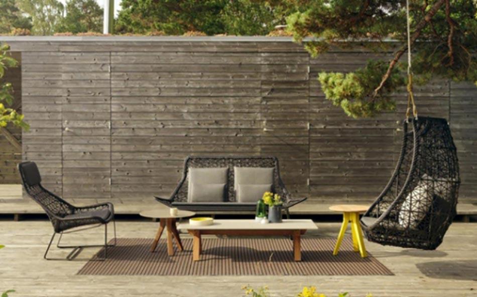 Mobilier de jardin design original par Patricia Urquiola ...