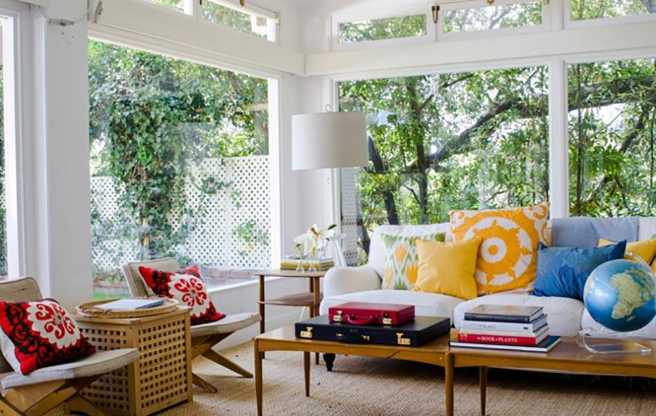 salon de jardin pour embellir une v randa vitr e design feria. Black Bedroom Furniture Sets. Home Design Ideas