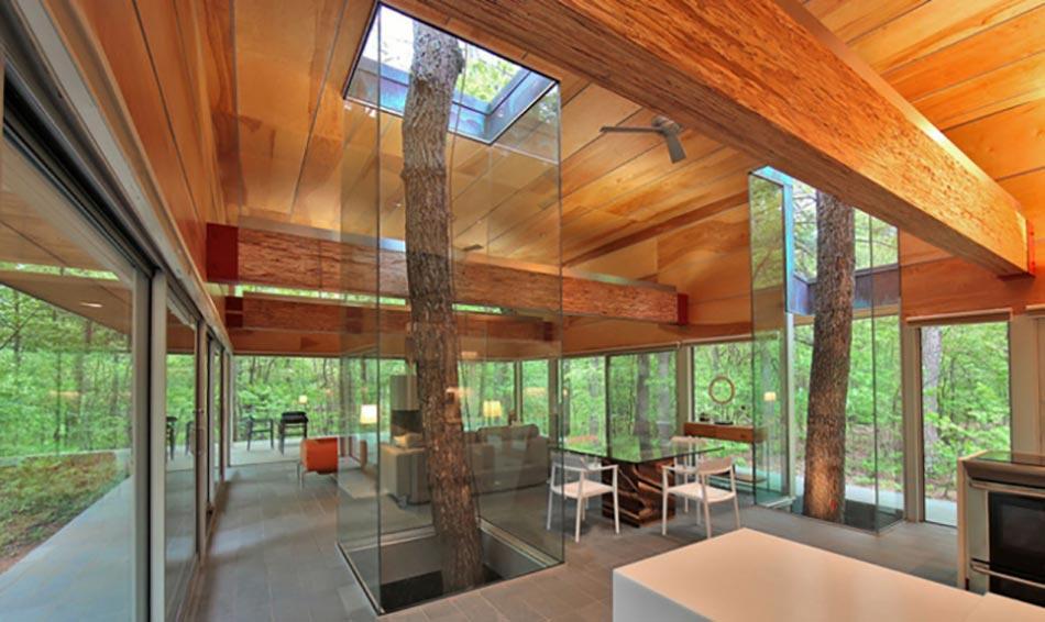 deco salon originale aux l ments verts co design feria. Black Bedroom Furniture Sets. Home Design Ideas