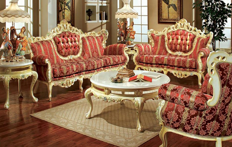 De Haute Qualite Salon Au Design Royal Classique Et Chic