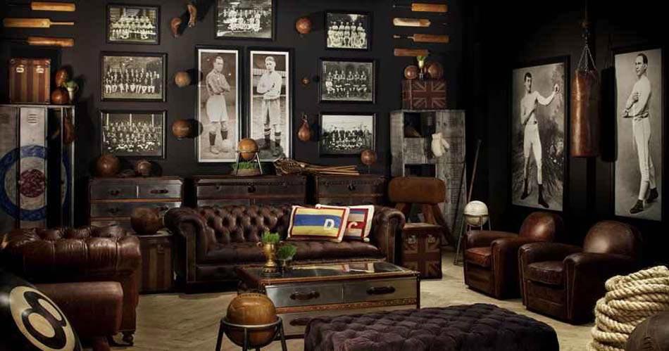 salon rétro élégant steampunk rétro