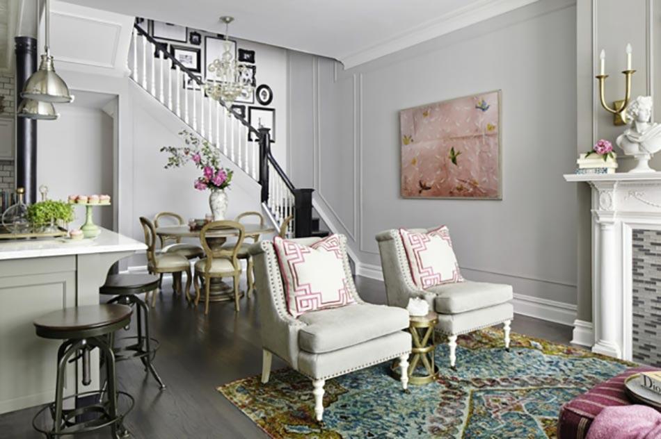 Deco maison de toute fraicheur avec des fleurs design feria Deco interieur de maison