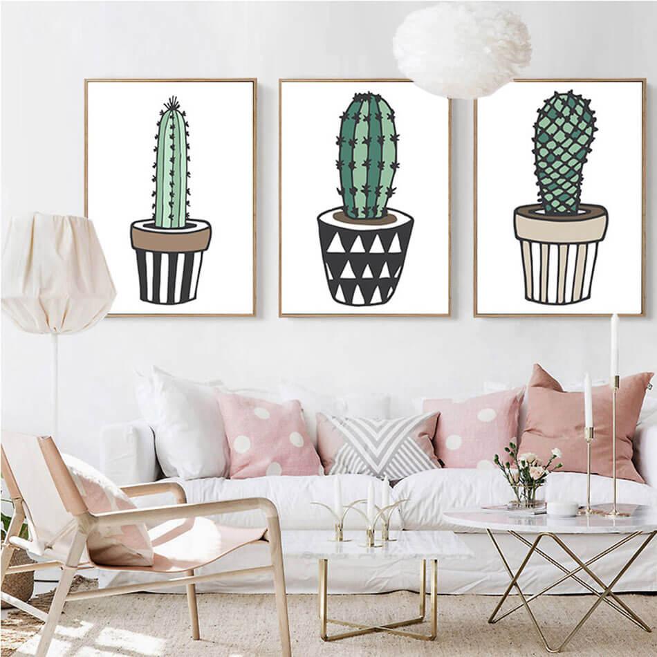 D Co Cactus Une Tendance Sympa Pour Nos Maisons Design Feria