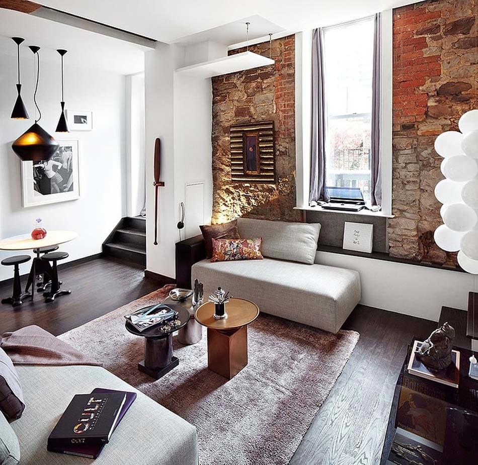 Les Meubles De Ce Loft Design Apportant Une Ambiance Du0027intérieur Très  Artistique. Loft Design Esprit éclectique Déco