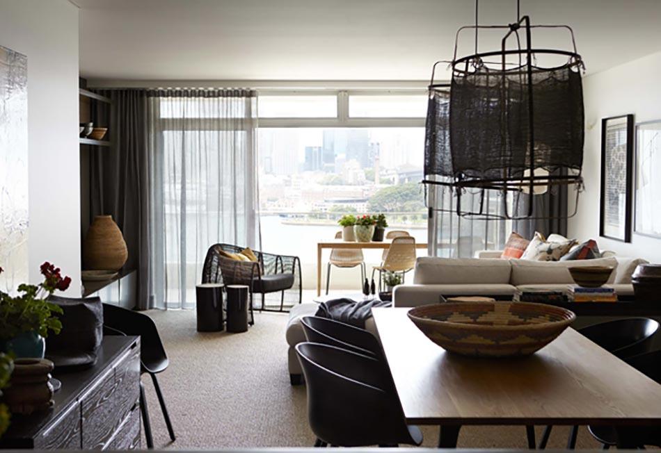 Appartement moderne et chic avec vue imprenable sur l for Interieur appartement design