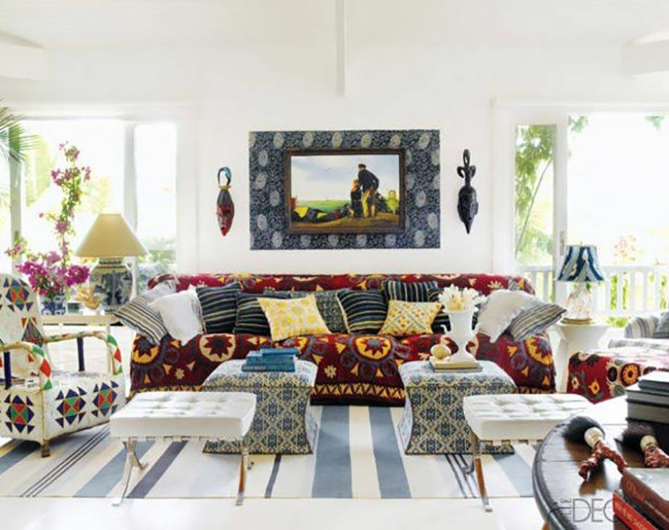 Id es d co pour un s jour personnalis et clectique design feria - Style de deco interieur ...