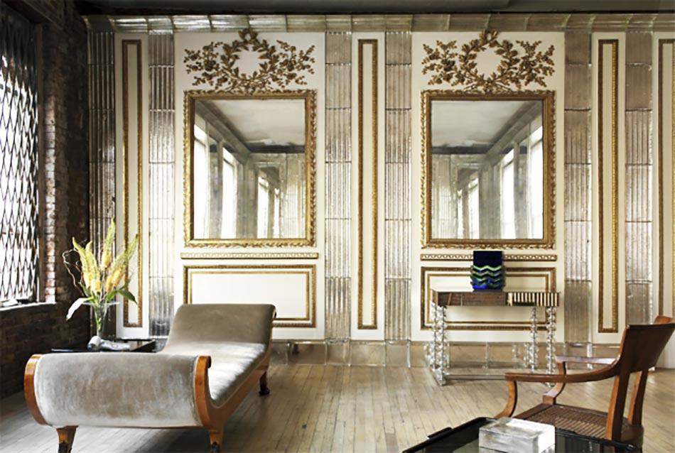 int rieur moderne et original l aide de miroir d coratif design feria. Black Bedroom Furniture Sets. Home Design Ideas