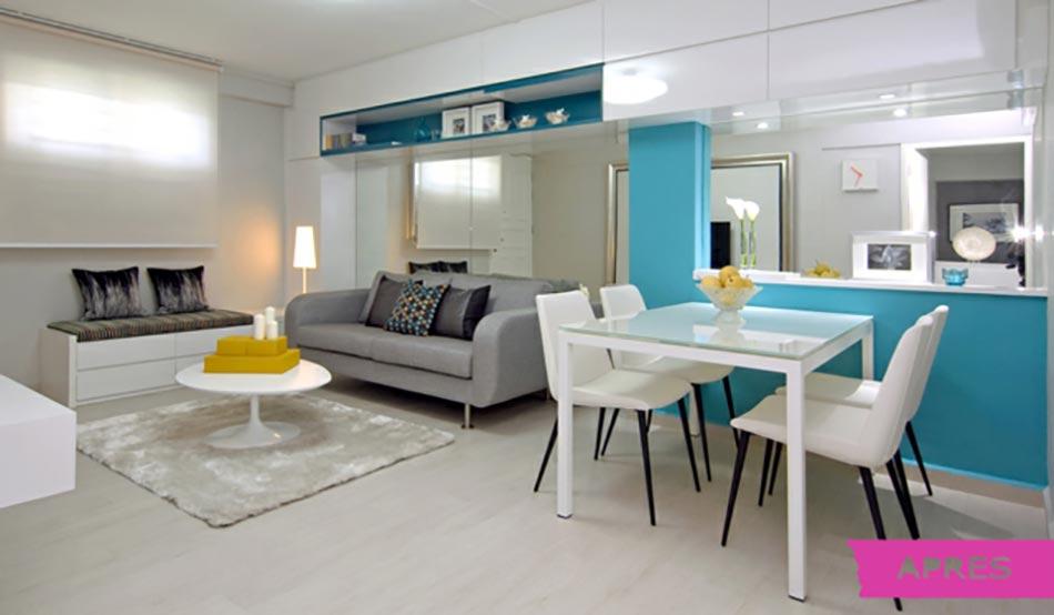 Belle r novation appartement singapour design feria - Couleur appartement moderne ...