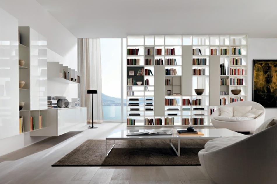 Bon Canapé Et Fauteuils De Design Italien En Blanc Et Beige. Ambiance Moderne  Design Italien
