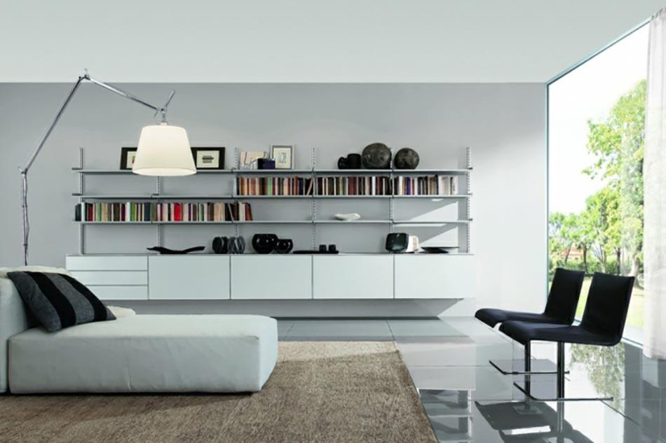un design italien pour un s jour contemporain l gant design feria. Black Bedroom Furniture Sets. Home Design Ideas