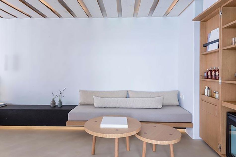 Exceptionnel Suite Design Hôtel Mykonos Tourisme Vue Sur La Mer