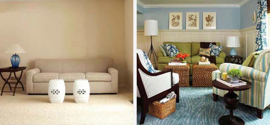 12 exemples avant apr s pour un relooking maisons totalement r ussi design feria. Black Bedroom Furniture Sets. Home Design Ideas