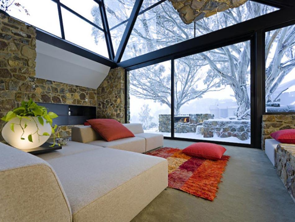 Maison de luxe au s jour unique voir et revoir design feria - Residence de luxe montagne locati ...