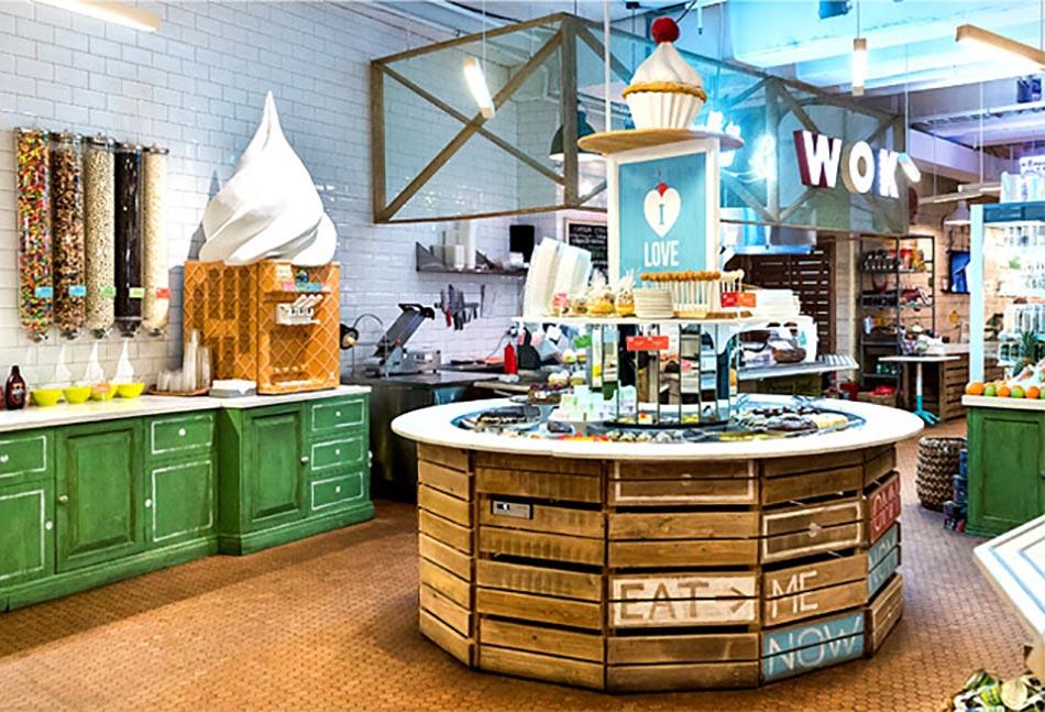 Decoration Restaurant Rapide : Obed buffet un restaurant design inspiré par la nature