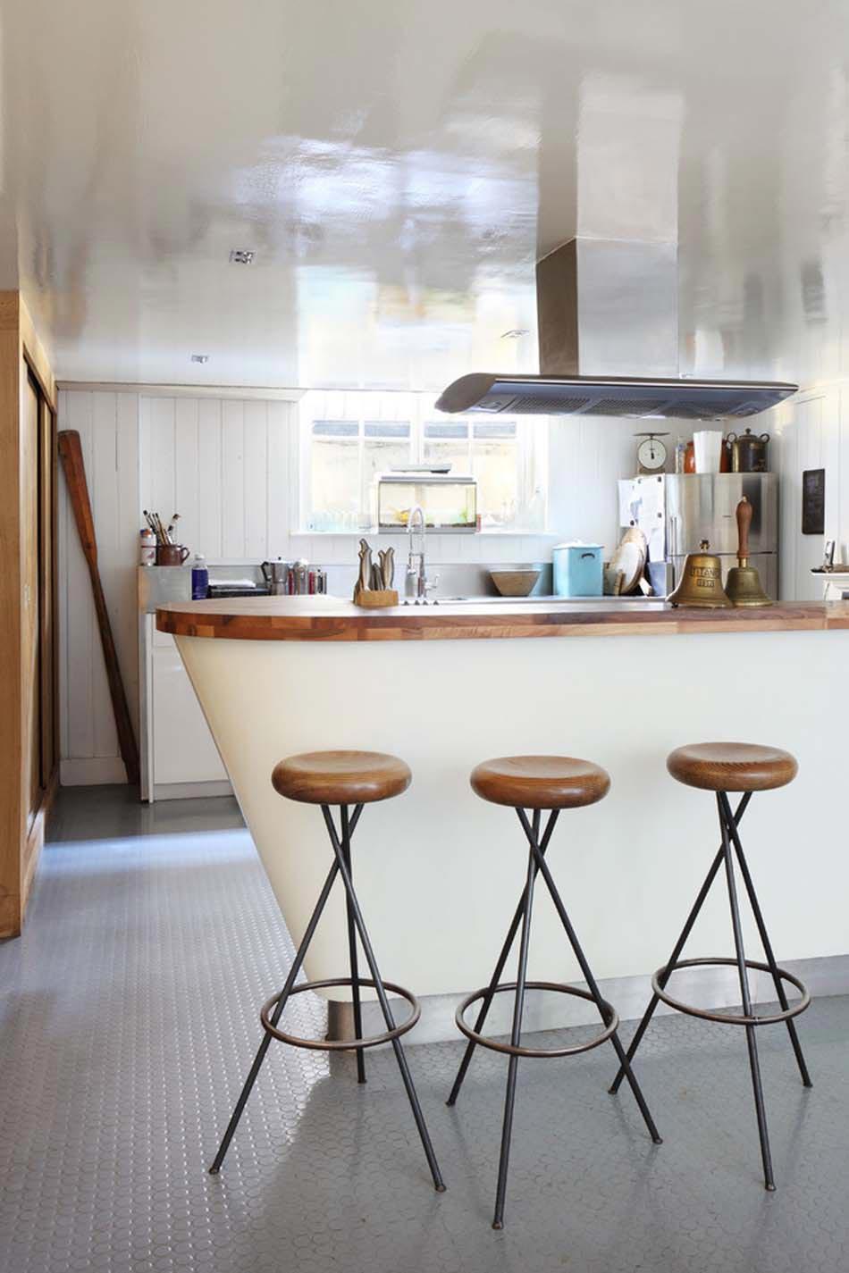 Attrayant Revêtement En Caoutchouc Pour Une Ambiance Industrielle Et Créative Dans La  Cuisine