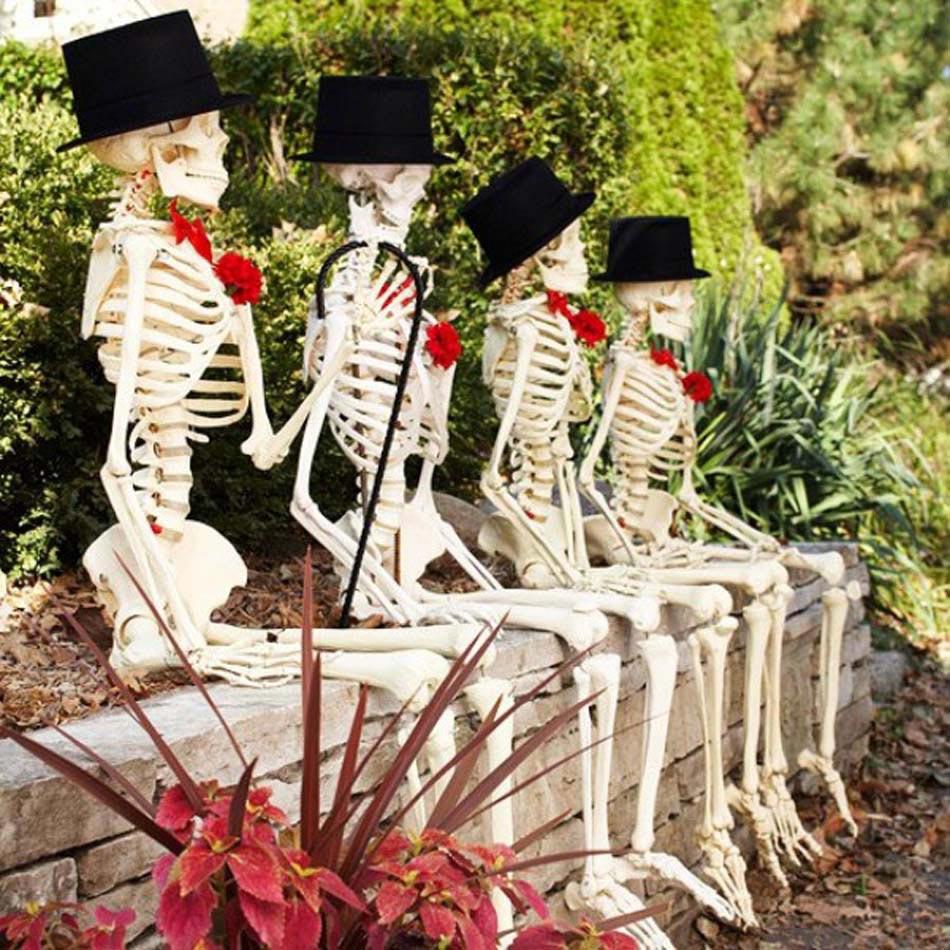 D coration halloween 16 inspirations en images pour d corer l ext rieur de votre maison - Wonderful halloween outdoor design ideas ...