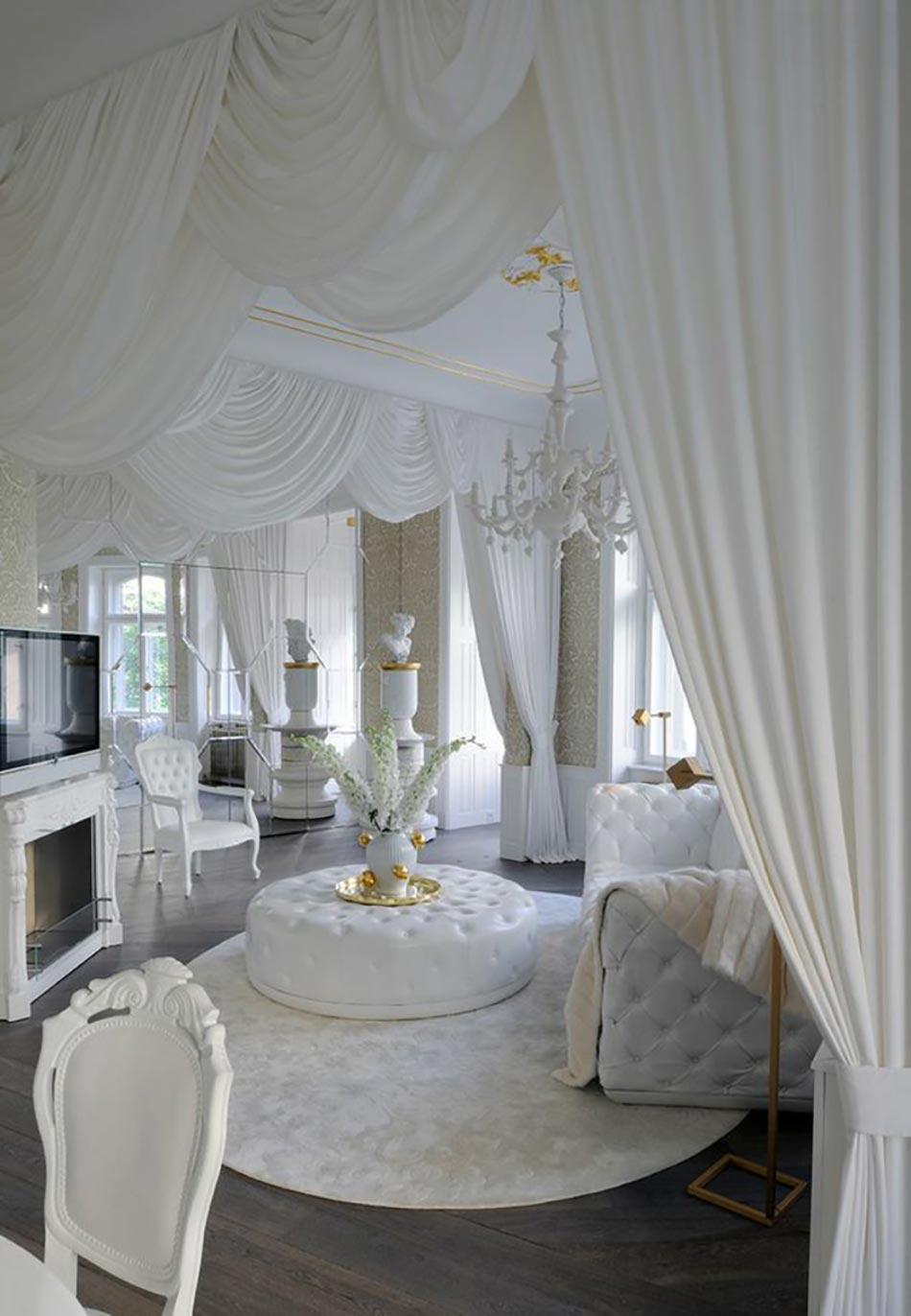 Le blanc en tant que fond parfait pour une d co design for Interieur et design mundolsheim