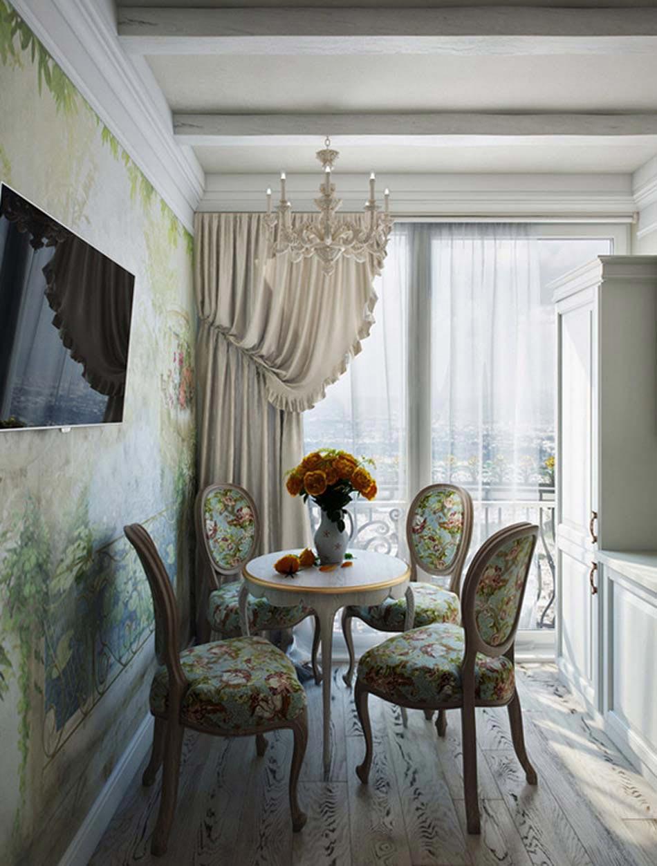 Salle manger design dans un petit appartement de ville - Salle a manger style colonial ...