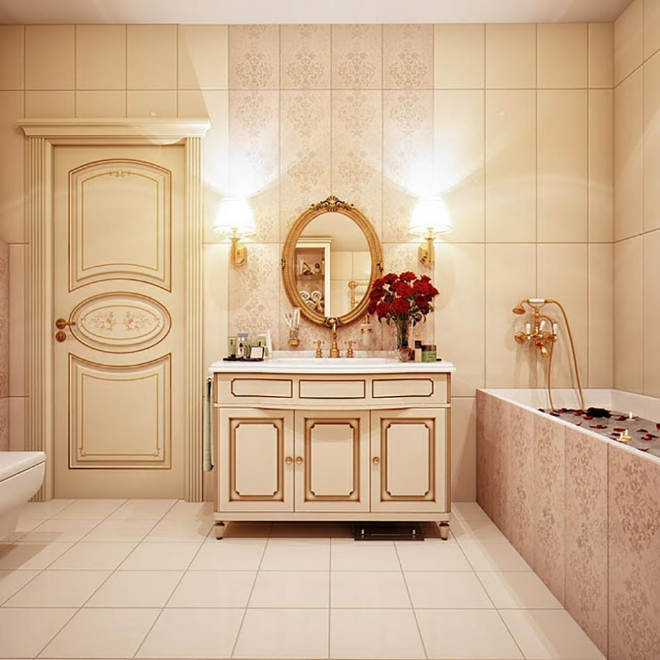 Salle De Bain Inspiration Orientale : Salle de bain de luxe aux inspirations diverses