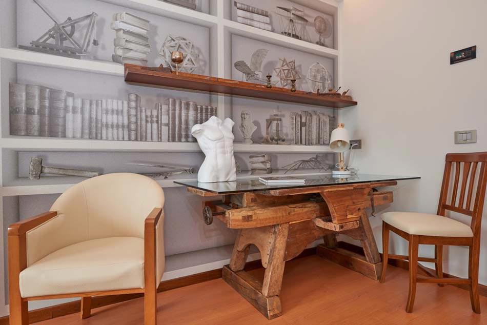 moderne et luxueux pour cette chambre de luxe de Belfiore Park Hotel